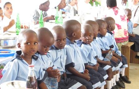Inauguración del jardín de infantes