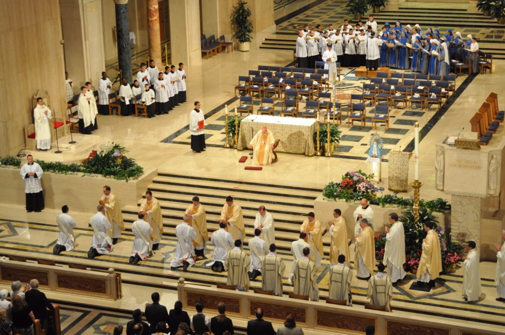 Institute Incarnate Word Ordinations Priesthood-Diaconate IVE