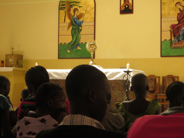 Institute of the Incarnate Word Tanzania - Holy Week